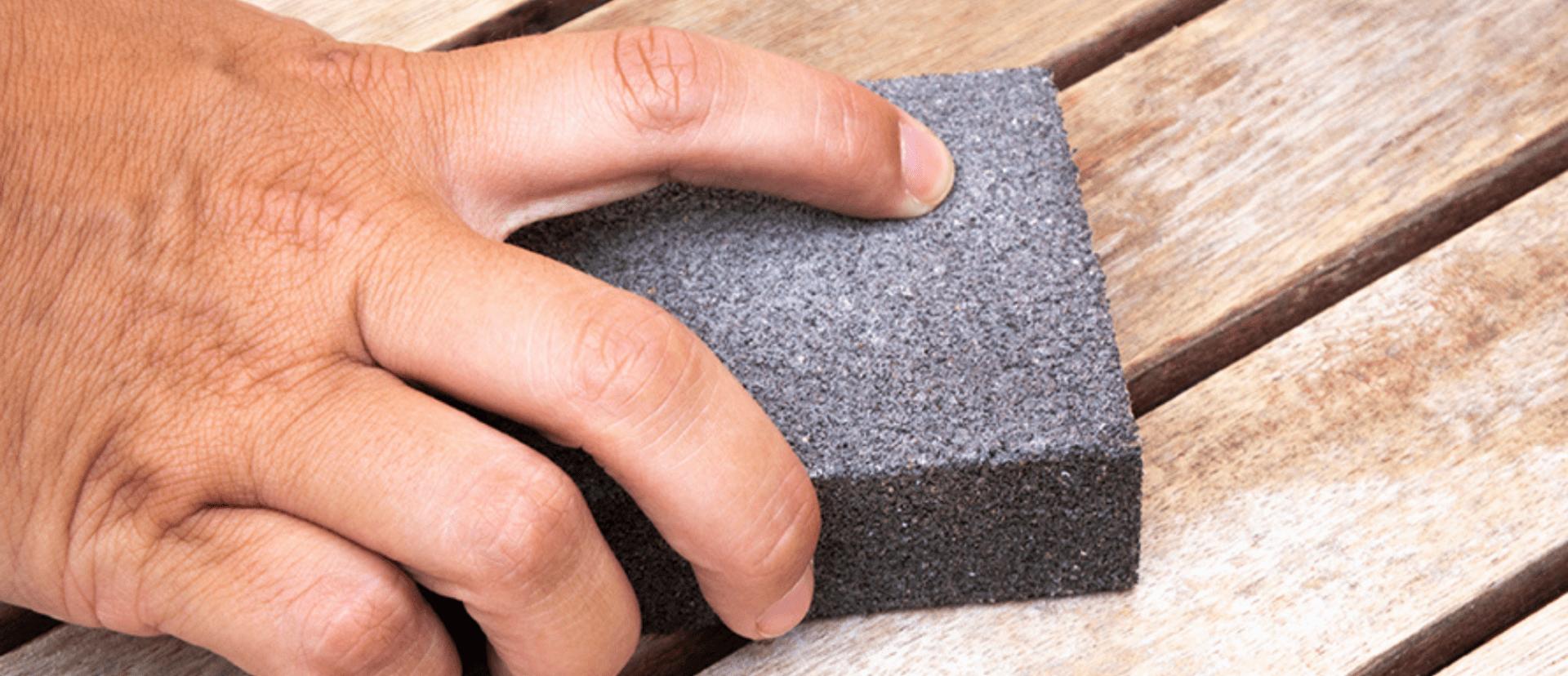 Preparación superficie - Mesa Chalk - Jipijapas y Pinturas La Pajarita